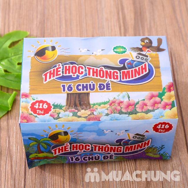 Bộ thẻ học song ngữ Anh- Việt 16 chủ đề và 416 thẻ - 3