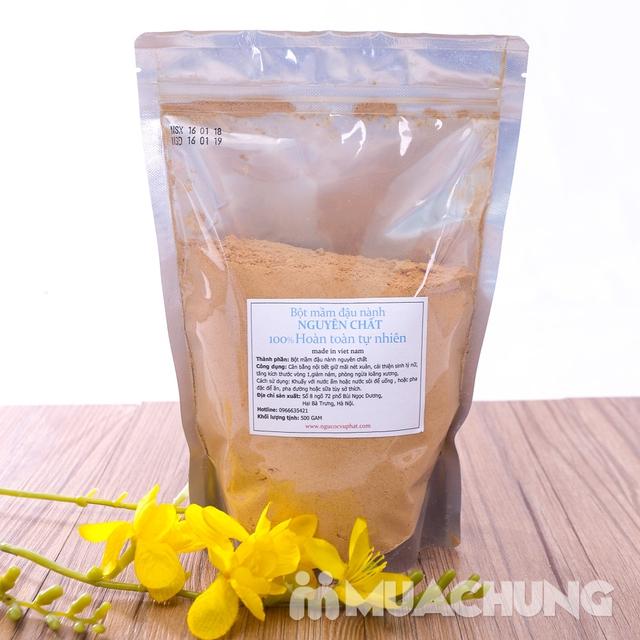 500g bột mầm đậu nành nguyên chất 100% tự nhiên - 5