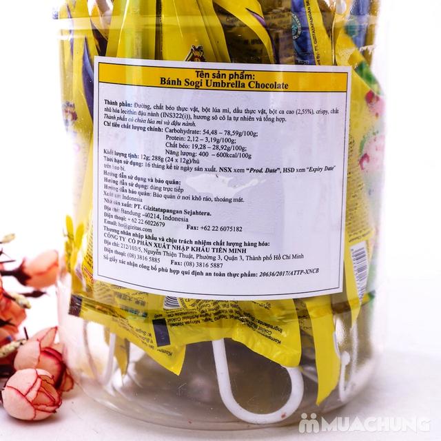 2 hộp bánh Sogi Chocolate nhập khẩu Indonesia - 9
