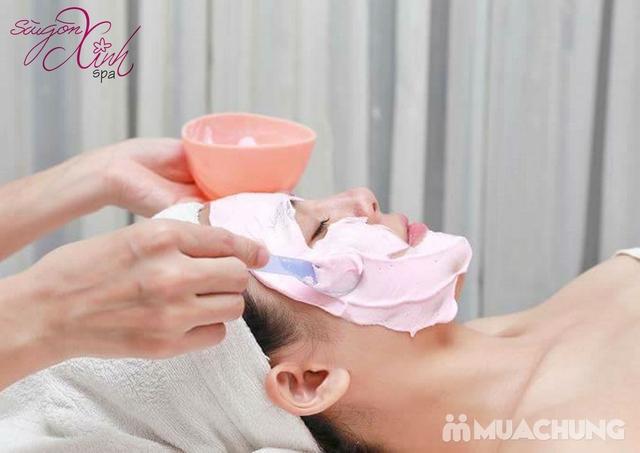 Chăm sóc da mặt chuyên sâu trắng hồng, mềm mịn Sài Gòn Xinh Spa - 6