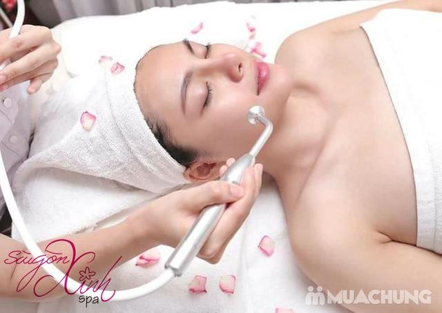 Chăm sóc da mặt chuyên sâu trắng hồng, mềm mịn Sài Gòn Xinh Spa - 8