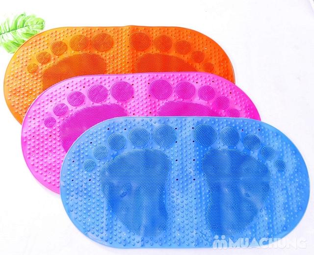 Thảm nhựa dẻo chống trượt trong nhà tắm - 4