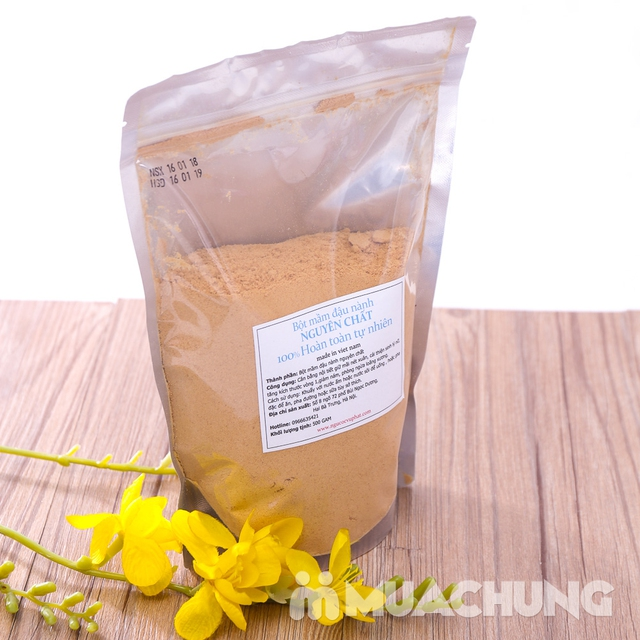 500g bột mầm đậu nành nguyên chất 100% tự nhiên - 7