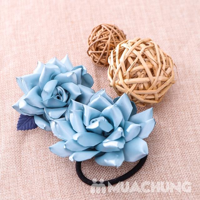 Hộp dây buộc tóc + hoa cài áo handmade xinh xắn - 19
