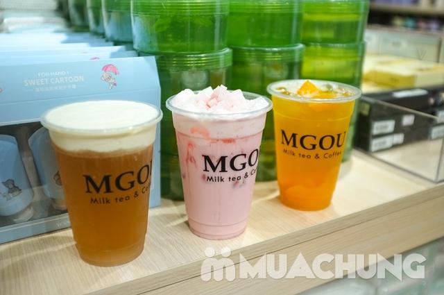 3 cốc trà sữa tùy chọn + 3 loại topping tại MGOU - 7