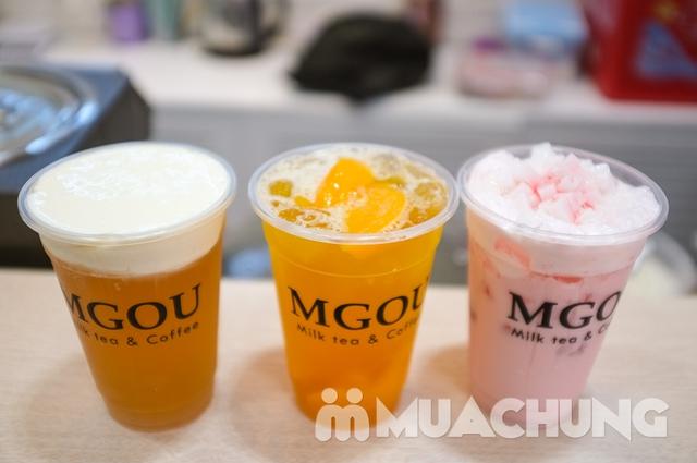 3 cốc trà sữa tùy chọn + 3 loại topping tại MGOU - 6