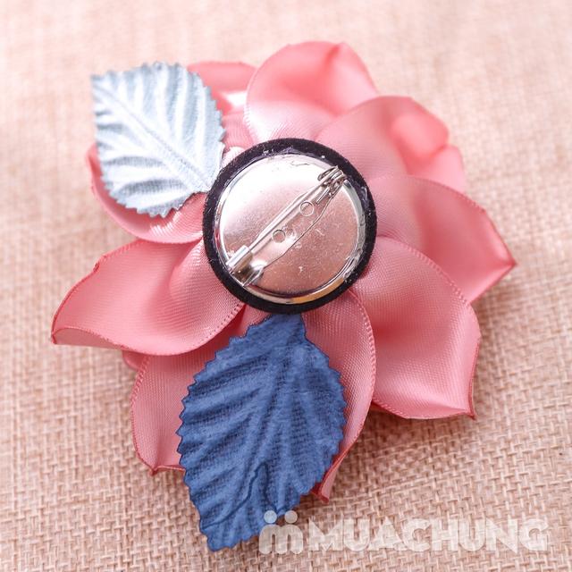 Hộp dây buộc tóc + hoa cài áo handmade xinh xắn - 15