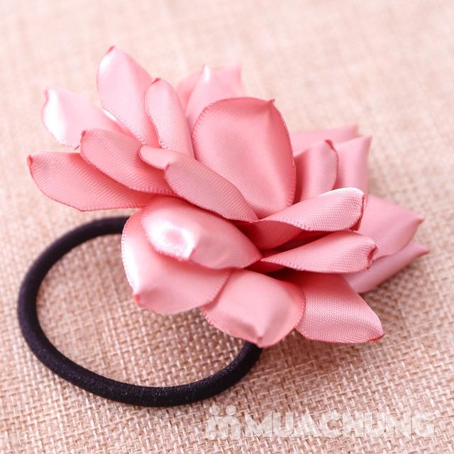 Hộp dây buộc tóc + hoa cài áo handmade xinh xắn - 16
