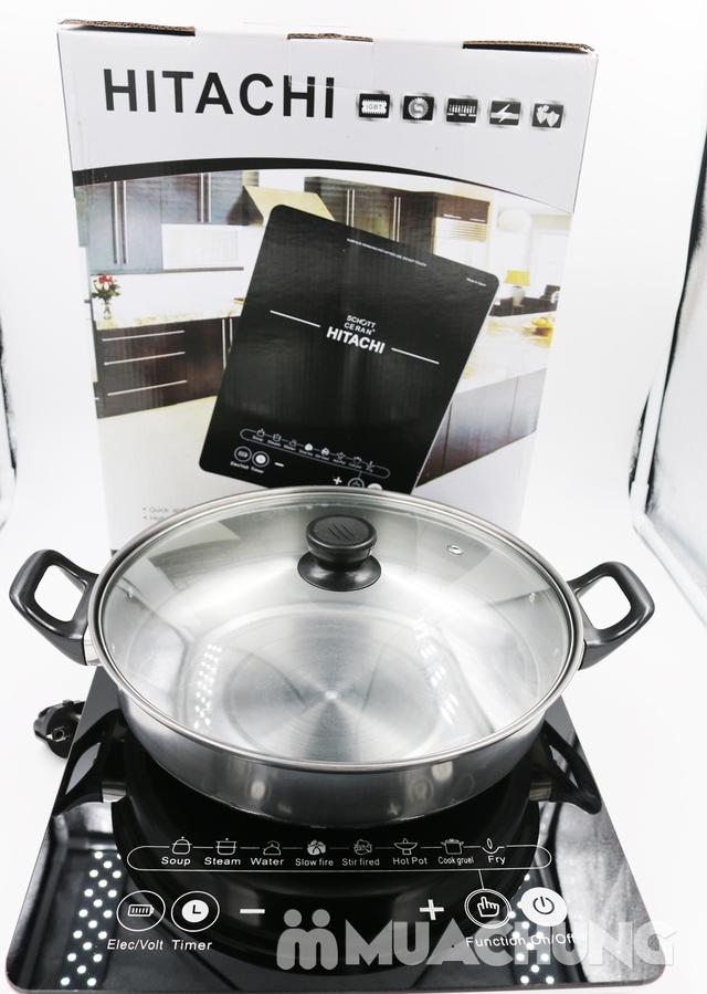 Bếp từ Hitachi kèm nồi - 2