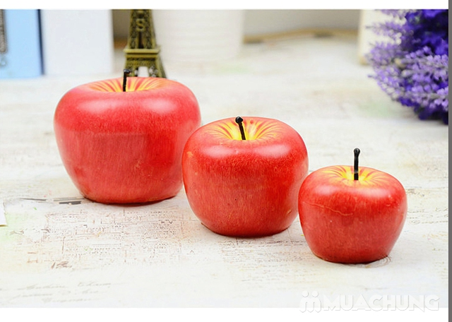 3 quả nến hình táo - 1