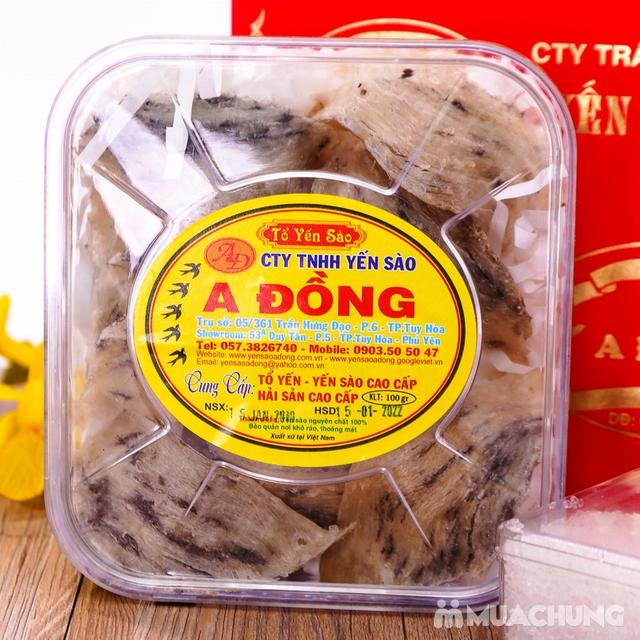 Yến sào thô nguyên tổ A Đồng 100g + đường phèn - 10