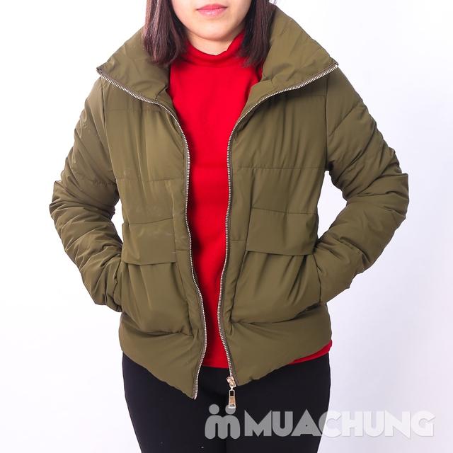 Áo phao nhẹ ấm, kiểu dáng thời trang - hàng VN - 13