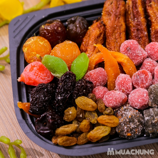 2 hộp mứt hoa quả mix nhiều loại (500g/hộp) - 12