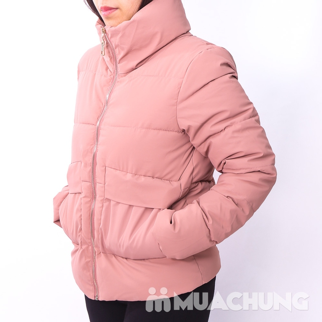 Áo phao nhẹ ấm, kiểu dáng thời trang - hàng VN - 8