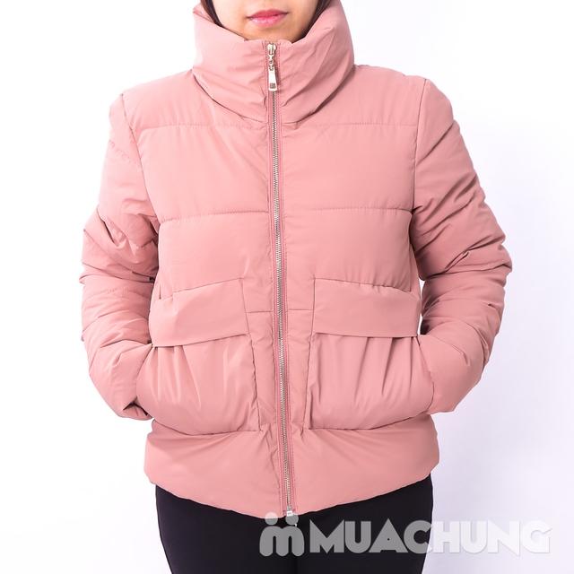 Áo phao nhẹ ấm, kiểu dáng thời trang - hàng VN - 7