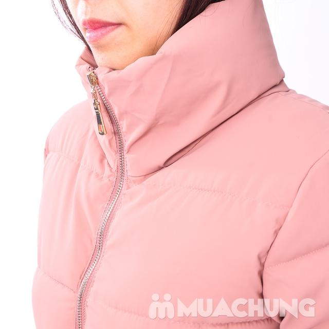 Áo phao nhẹ ấm, kiểu dáng thời trang - hàng VN - 10