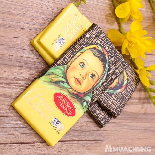 3 thanh socola Alionka nhập khẩu Nga (100g/thanh) - 8