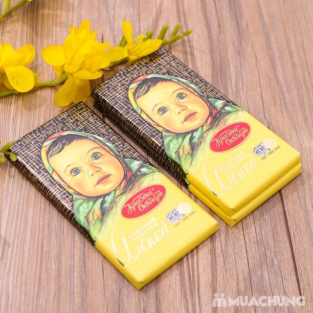 3 thanh socola Alionka nhập khẩu Nga (100g/thanh) - 9