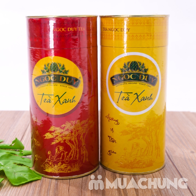 Combo 2 hộp trà xanh Ngọc Duy 100% tự nhiên - 10