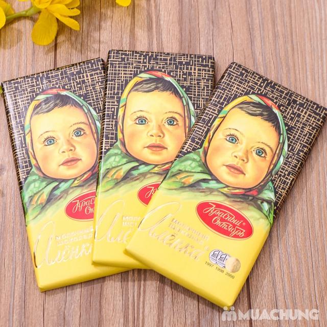 3 thanh socola Alionka nhập khẩu Nga (100g/thanh) - 6