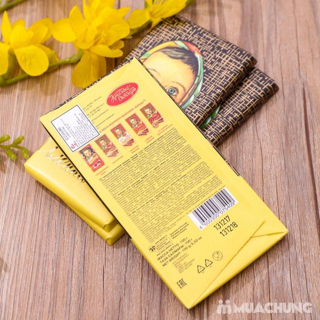 3 thanh socola Alionka nhập khẩu Nga (100g/thanh) - 10