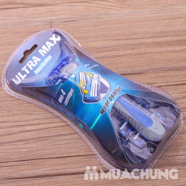 Combo 2 dao cạo râu 3 lưỡi Ultra Max tiện dụng - 9