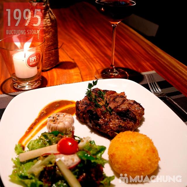 Combo steak Bò Úc Ribeye ngon chuẩn vị Âu - Mỹ 1995 Buctuong Story - 6