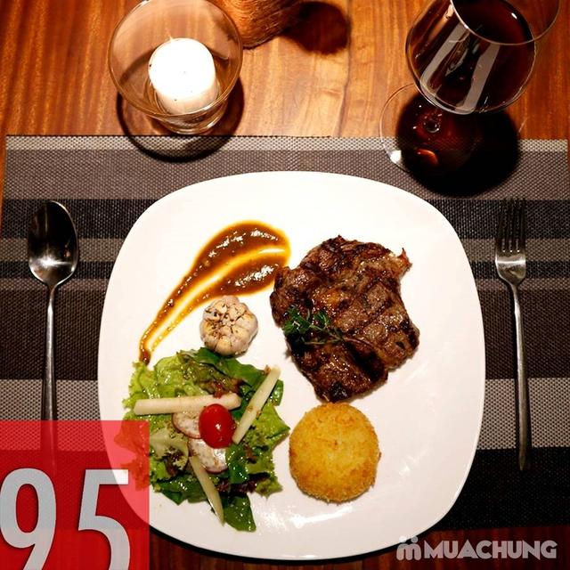 Combo steak Bò Úc Ribeye ngon chuẩn vị Âu - Mỹ 1995 Buctuong Story - 1