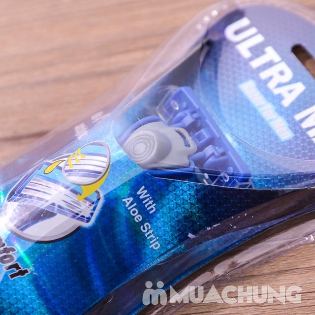 Combo 2 dao cạo râu 3 lưỡi Ultra Max tiện dụng - 7