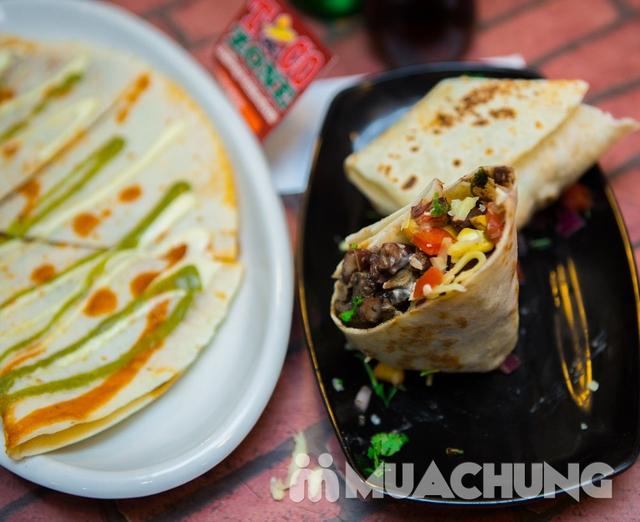 Pizza Mexico, bánh Burrito và 2 đồ uống-Pizza Home - 8