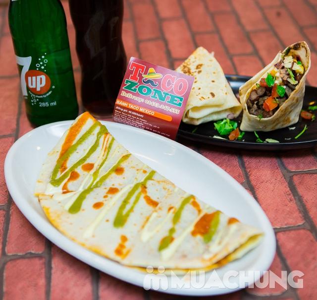 Pizza Mexico, bánh Burrito và 2 đồ uống-Pizza Home - 6