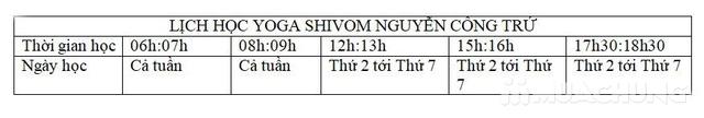 Voucher thẻ tập Yoga &, Dance 6 buổi tại Shivom - 3