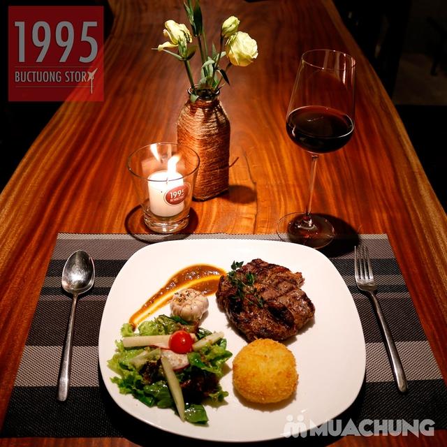 Combo steak Bò Úc Ribeye ngon chuẩn vị Âu - Mỹ 1995 Buctuong Story - 4
