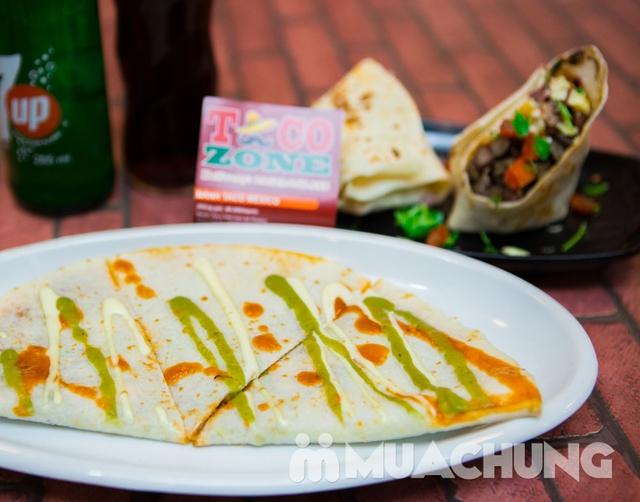 Pizza Mexico, bánh Burrito và 2 đồ uống-Pizza Home - 9