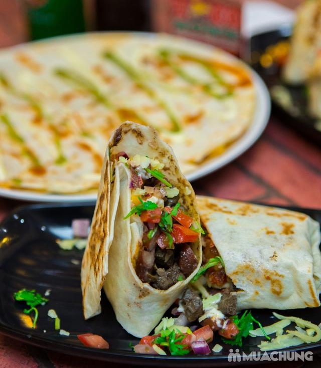 Pizza Mexico, bánh Burrito và 2 đồ uống-Pizza Home - 4