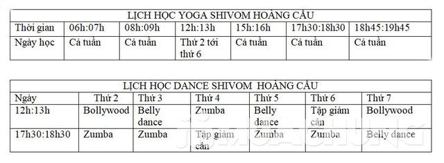 Voucher thẻ tập Yoga &, Dance 6 buổi tại Shivom - 2