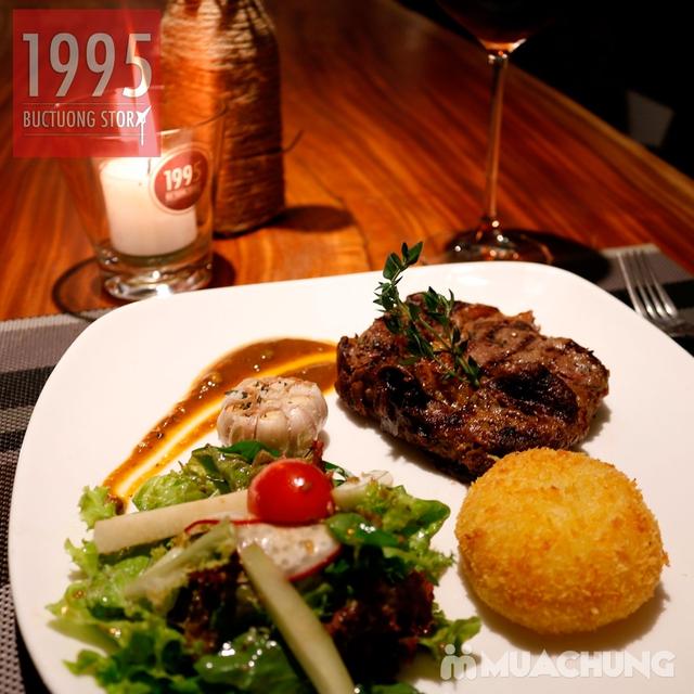 Combo steak Bò Úc Ribeye ngon chuẩn vị Âu - Mỹ 1995 Buctuong Story - 5