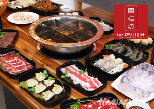 Buffet trưa lẩu Hồng Kông đặc sắc-NH Lan Kwai Fong - 1