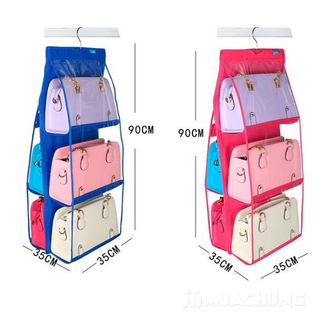 Túi treo bảo vệ túi xách 6 ngăn tiện dụng - 5