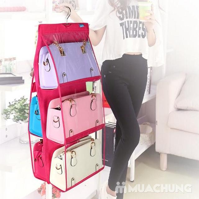 Túi treo bảo vệ túi xách 6 ngăn tiện dụng - 4