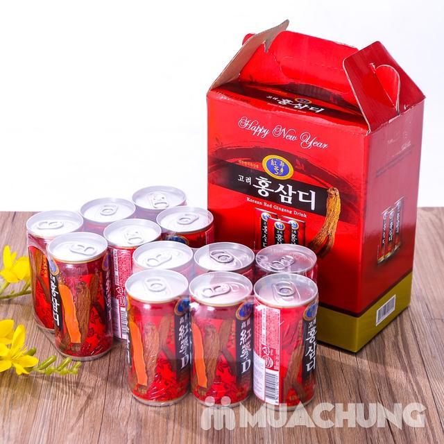 12 lon nước hồng sâm Hàn Quốc thanh nhiệt, mát gan - 10