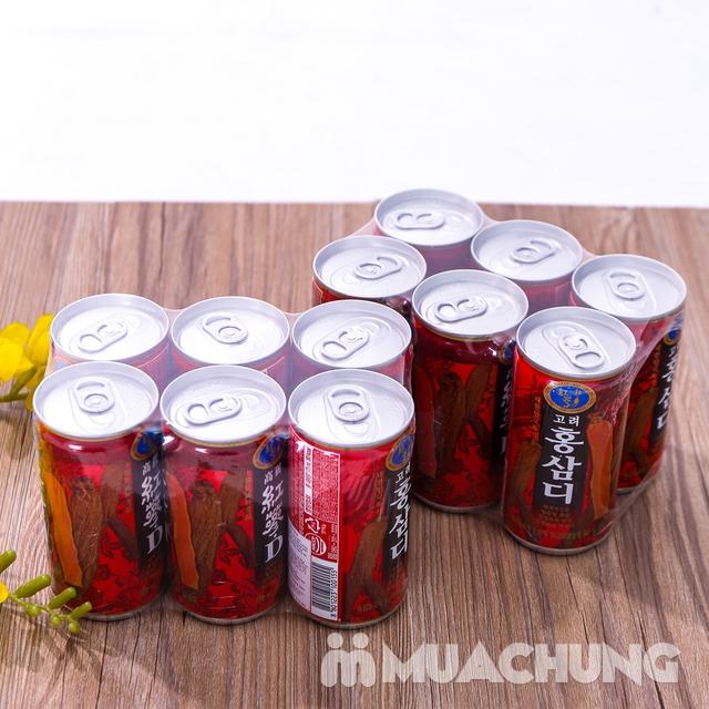 12 lon nước hồng sâm Hàn Quốc thanh nhiệt, mát gan - 9