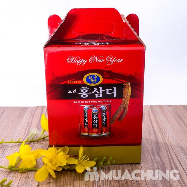 12 lon nước hồng sâm Hàn Quốc thanh nhiệt, mát gan - 7