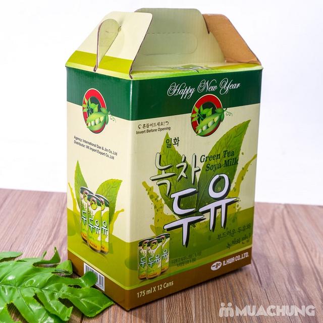 Hộp 6 lon sữa đậu nành vị trà xanh NK Hàn Quốc - 17