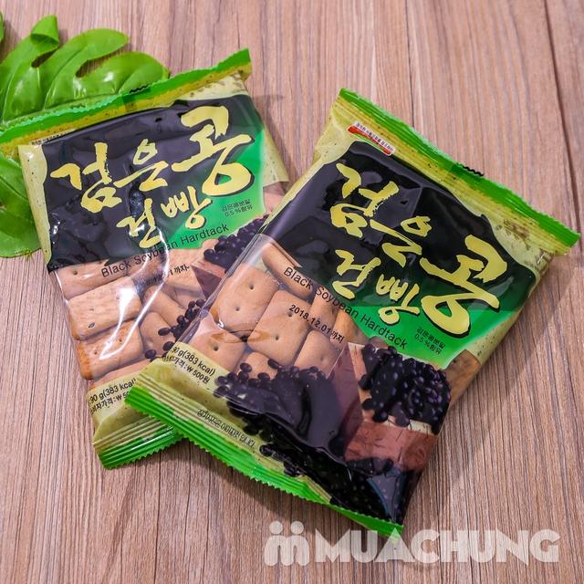 Combo 05 gói bánh quy đậu đen (90g/ gói) Hàn Quốc - 10