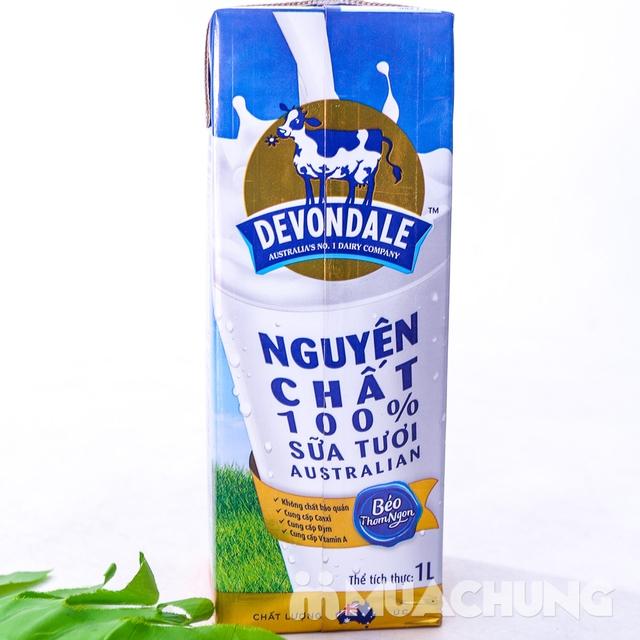 1 thùng/10 hộp sữa tươi Devondale nguyên kem NK Úc - 9