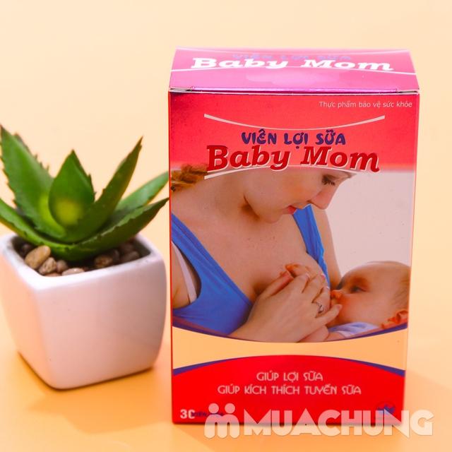 Viên lợi sữa Baby Mom (30 viên/hộp) - hàng VN - 12