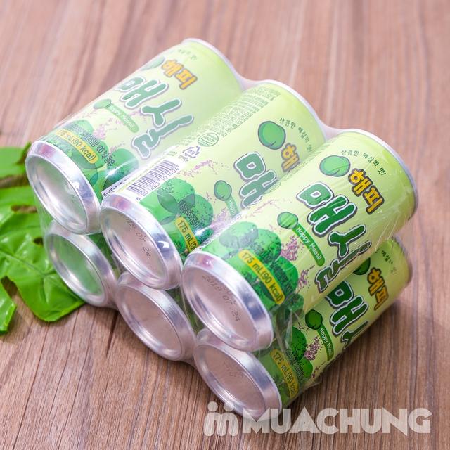 Set 6 lon nước mơ nhập khẩu Hàn Quốc 175ml/ lon  - 10