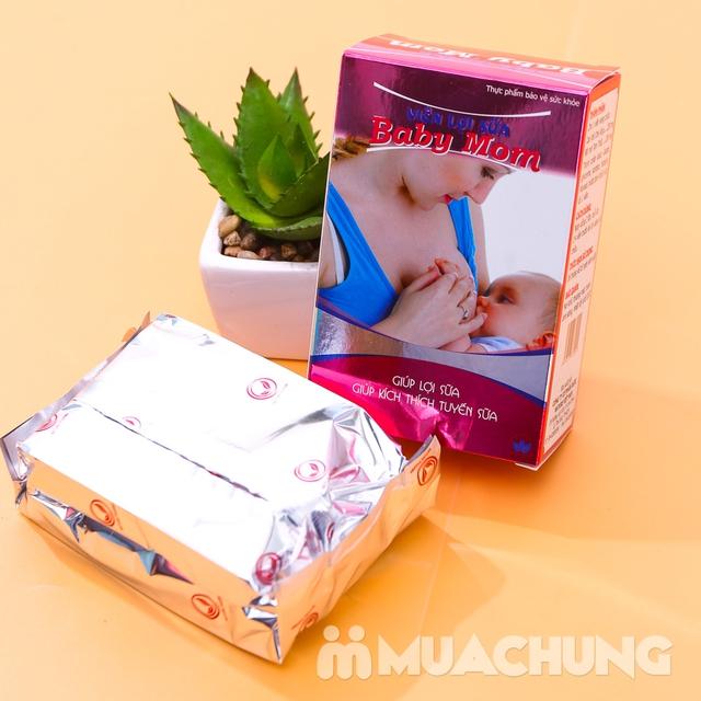 Viên lợi sữa Baby Mom (30 viên/hộp) - hàng VN - 9