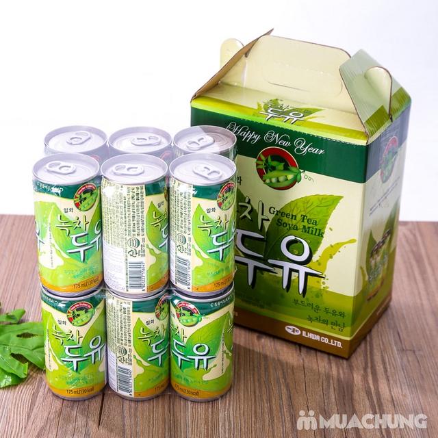 Hộp 6 lon sữa đậu nành vị trà xanh NK Hàn Quốc - 15